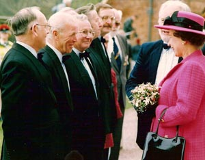 Meeting Her Majesty The Queen, 1989
