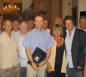 Michael Ball at the Mansion House, London