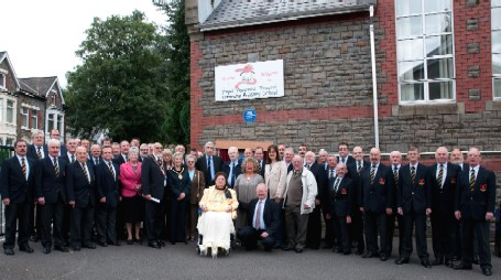 Unveiling of the Blue Plaques at Treorchy Primary School